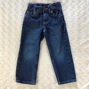Carter's 2T Straight Fit Blue Jeans Denim Pants